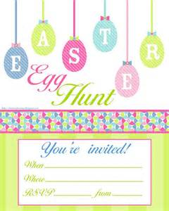 easter egg hunt free printable invitation print however many you need and personalise them