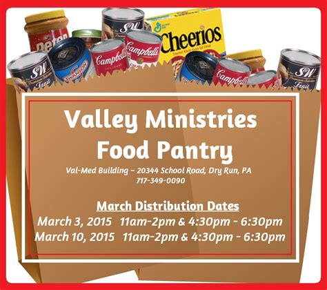 Valley Pantry by Valley Ministries Food Pantry By Valley Minstries Gofundme