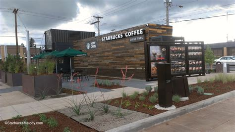 Unique Homes Plans by Portland S First Shipping Container Starbucks Is Now Open