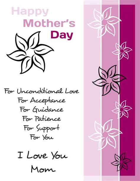 Mothers Day Card Publisher Template by Happy S Day Flyer Template For Corel Draw