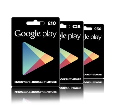 google play google - Google Play Gift Cards Uk