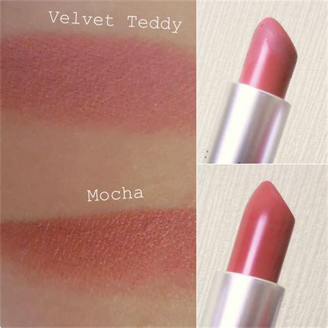 Mac Velvet Teddy Lipstick mac velvet teddy vs mac mocha lipstick makaloves