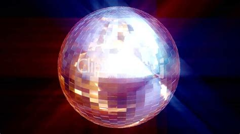 hd animated disco ball royalty  video  stock footage