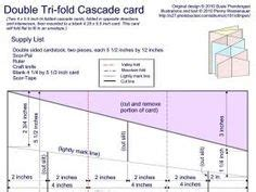cascade card template 1000 images about fancy fold cards on fancy