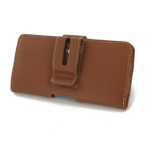 leather clip pouch htc 10 leather holster with belt clip brown pdair pouch