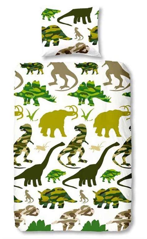 dekbedovertrek 140x200 hema bol dinosaurus dekbedovertrek groen eenpersoons