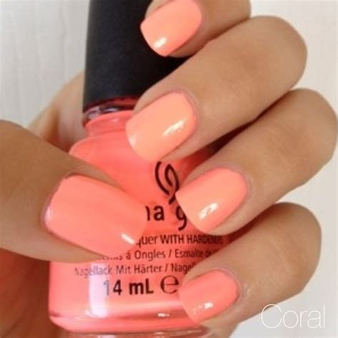 coral color nails 2014 nail color trends on fifth avenue