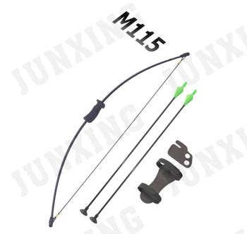 Junxing M115 Archery Kid Bow Black simple bow for children practicing archery buy children