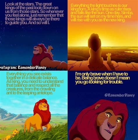 film quotes lion king mufasa lion king quotes quotesgram