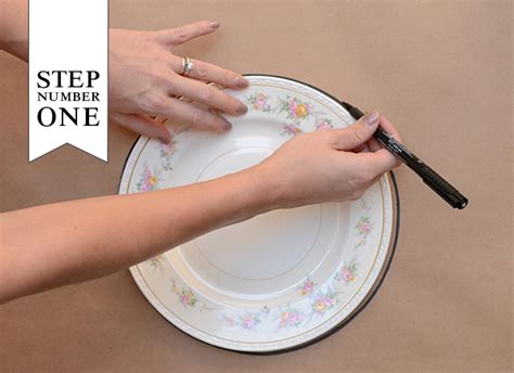 diy tutorial dinner party placemats menus