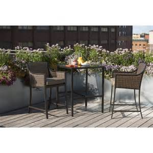 casetta 3 wicker patio bar height bistro f target