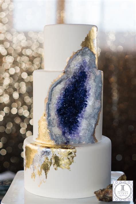 Fireplace Decorating Ideas by How To Make A Geode Cake