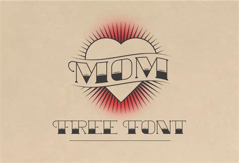 mom font family befontscom