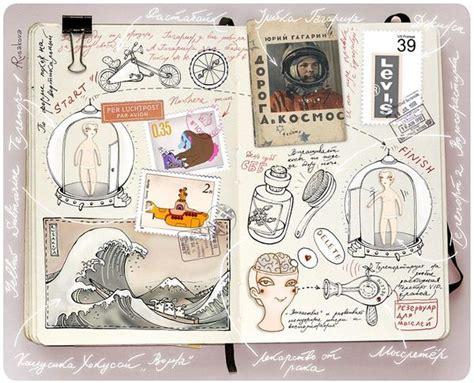 sketchbook journaling moleskin sketchbooks of rusakova