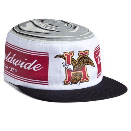 Caps Huf Premium 3 huf domestic pillbox hat white new arrivals