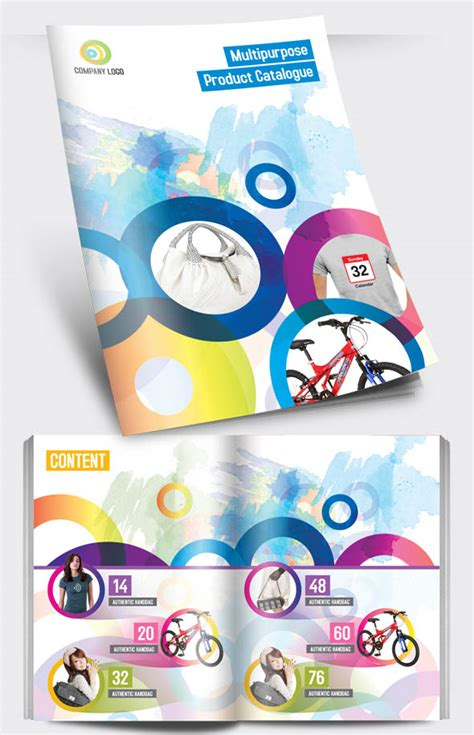 Pintar Itu Keren 15 desain brosur keren untuk inspirasi