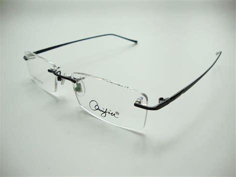 new mens alloy eyeglass frames new mens man rimless eyeglass frames titanium alloy frame