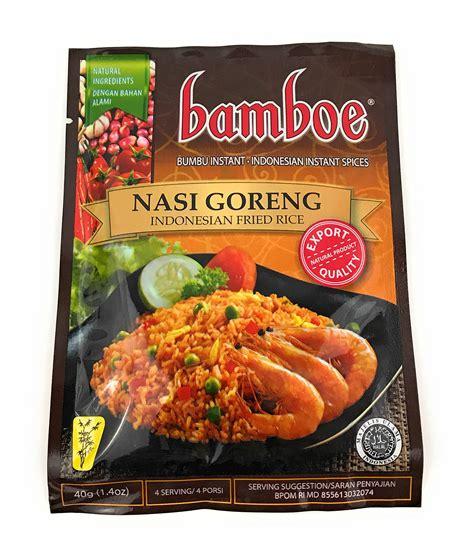 Bamboe Bumbu Nasi Goreng 54gr bamboe rendang curry paste