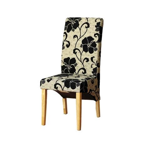 floral dining room chairs patterened dining room chair floral fabric upholstered