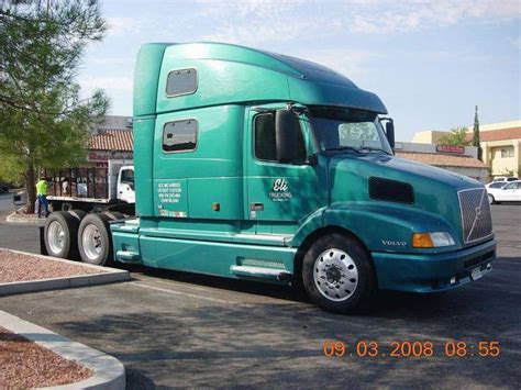2000 volvo truck 2000 volvo vnl 64t770 tandem axle semi truck for sale in