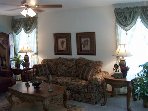 the living room providence pennwest providence model hs101 a two story modular home