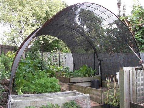 nice shade cloth structure   garden shade garden