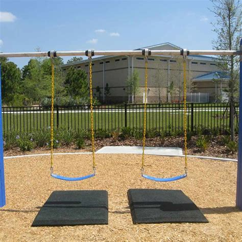 swing mat rubber playground mats slide mats swing mats blue sky