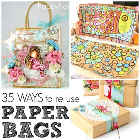 crafts to make with paper bags 35 cool things to make with a paper bag happy