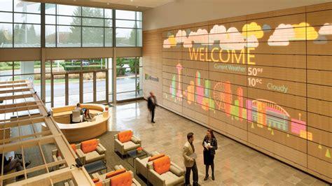 Wall Showcase by Downstream Microsoft