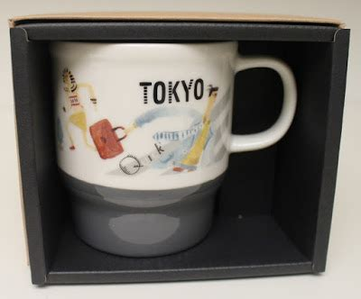 starbucks tokyo city collection series starbucks japan geography series city mug tokyo it has grown on me