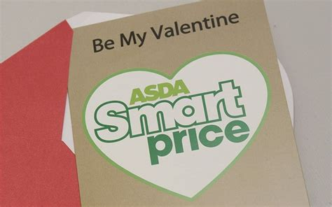 asda s card asda launch 7p valentine s day card pr exles