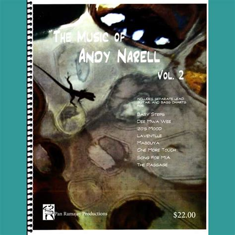 Andy Narell In The Engine Room by The Of Andy Narell Volume 2 Book