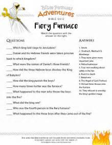 bible quiz kids fiery furnace free download