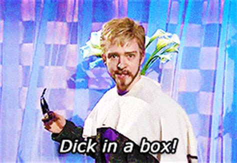 Dick In A Box Meme - snl gifs find share on giphy