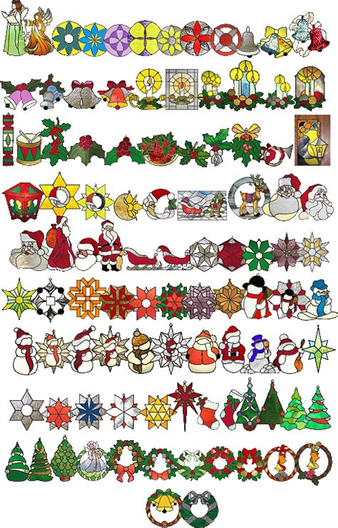 christmas pattern stained glass stain glass christmas patterns christmas patterns