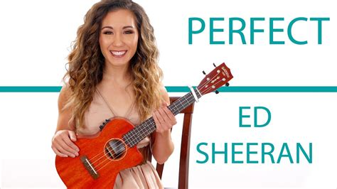 ed sheeran perfect tune perfect by ed sheeran ukulele tutorial with