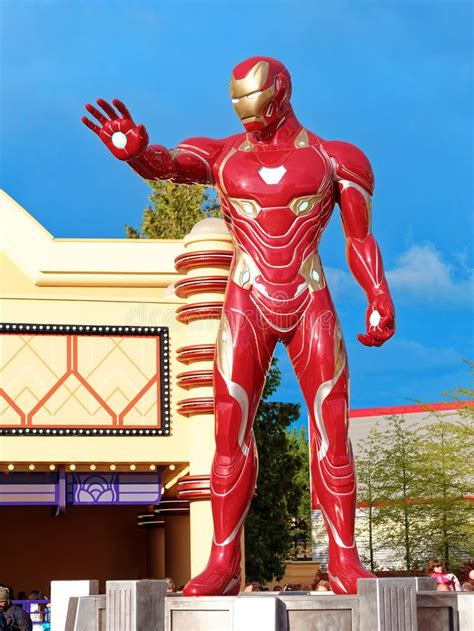 ironman iron man marvel super heroes stand promote