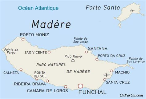 0004488997 carte touristique madeira en s 233 jour mad 232 re informations sur la destination et