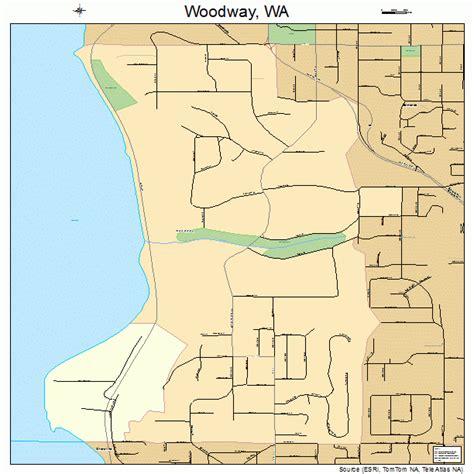 woodway washington map 5379835