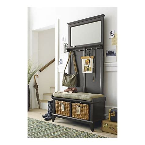Entryway Bench With Rack Entryway Storage Bench With Coat Rack Woodworking