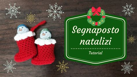 Speciale natale segnaposto natalizi youtube