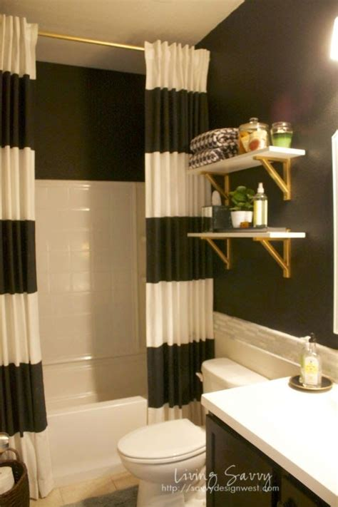 White And Gold Bathroom Ideas 17 Best Ideas About Black White Bathrooms On Pinterest Black And White Master Bathroom Black
