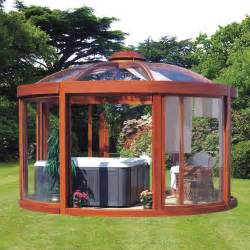 Yard Gazebo by The Scandinavian Backyard Gazebo From Hammacher