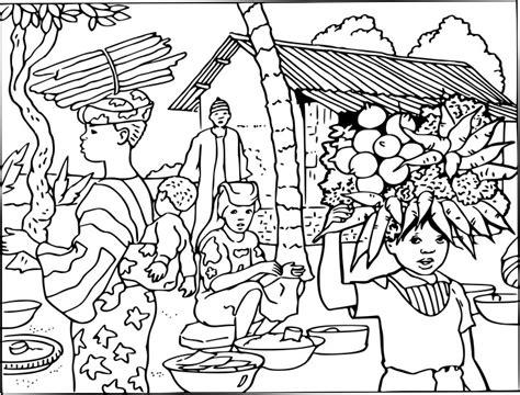 Coloriage Village Afrique 224 Imprimer Coloriage Com A Imprimer Gratuit L