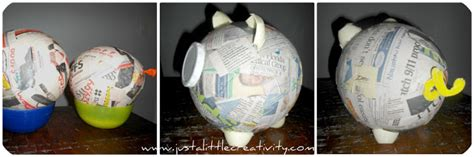 How To Make A Paper Mache Pig - just a creativity paper mache angry birds pig