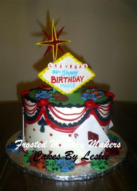 vegas themed birthday cakes uk las vegas birthday cake frosted memory makers pinterest