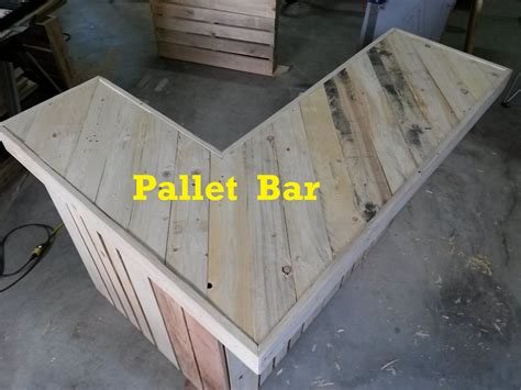 i want to build a home terry in the garage pallet bar part 1 youtube