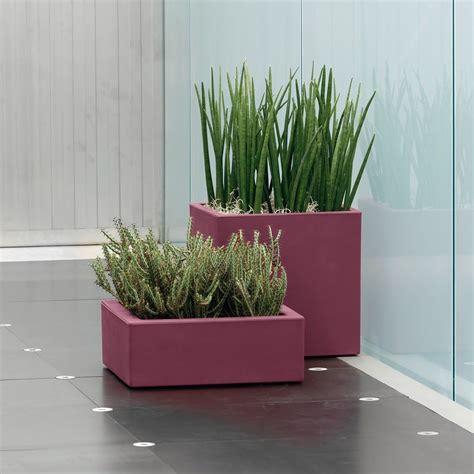 vaso da interno moderno vaso minos nicoli vasi per piante planters garden e