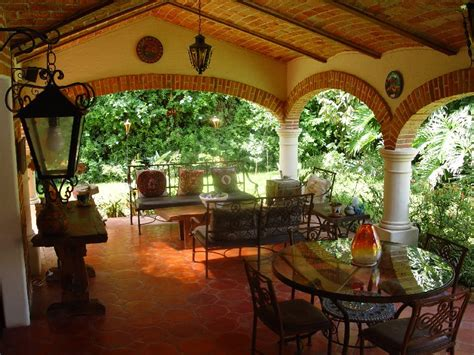 hacienda stil home pläne the hacienda style terrace a great place to enjoy the