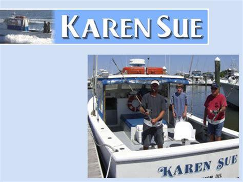 charter boat fishing rehoboth beach karen sue boat sport fishing charters visit delaware